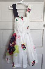 Jottum Searose Sea Rose Dress 128 / 8 Years (runs small) Good Used Condition