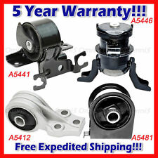 For 4PCS Engine Motor /& Trans Mount 05-06 Mazda Tribute 3.0L 5446 5481 5412 5293