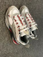 FILA Womens boveasorus  running shoes wht/hirs/navy