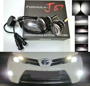 LED Kit G 48W 881 6000K White Two Bulbs Fog Light Upgrade Replacement Plug Play