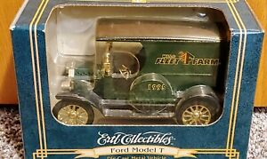 NEW Ertl Diecast Metal Coin Bank 1912 Ford Model T MillsFleetFarm Delivery Truck
