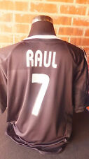 Raul #7 Real Madrid 2003-2004 Away Football Shirt XXL (10448)