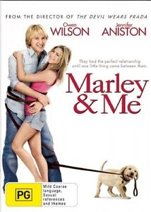 Marley and Me DVD - Owen Wilson Movie Jennifer Aniston Funny COMEDY