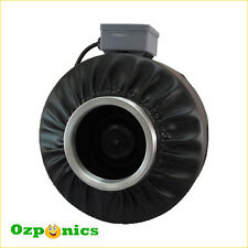 """10"""" INLINE DUCT FAN HYDROPONICS CENTRIFUGAL EXHAUST VENTILATION BLOWER"""