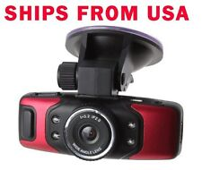 FULL HD Car DVR 1080P GPS G-Sensor Night Vision Vehicle Red GS5000