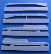 Pavla U48051 1/48 Resin Dassault Mirage 2000 wing pylons Heller + Kinetic