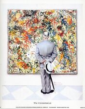 Norman Rockwell Saturday Evening Post Print CONNOISSEUR