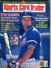 Sports Card Trader Magazine October 1992 Ryne Sandberg EX 080916jhe