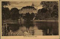 WIESENBURG Mark Brandenburg AK um 1910 Schloss Teich alte Postkarte