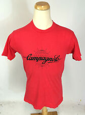 Vintage 80s Campagnolo Cycling T Shirt Jersey Bicycle Racing Riding USA L