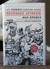 The Zombie Survival Guide Recorded Attacks - Fridge / Locker Magnet. Max Brooks