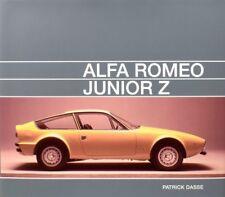 Alfa Romeo Junior Z (Tipo 105 Zagato 1600) Buch book Bilder Photos Patrick Dasse