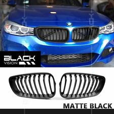 Matte Black Front Mesh Grille for BMW 3 Series F34 GT Gran Turismo 2013-2016