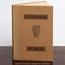 1952 GUINNESS St James Gate DUBLIN Vintage 40 Illustration Photographs Irish VGC