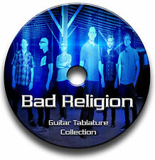Bad Religion Punk Rock Guitar Tab Tablature Song Book Anthology Software Cd