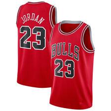 Maillot-Basket Chicago Bulls Michael Jordan Numéro 23 Homme Taille Adulte