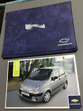# CHEVROLET MATIZ OWNERS INSTRUCTION MANUAL HANDBOOK FOLDER BOOK PACK 2000-2005