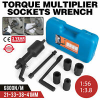 Torque Multiplier Wrench 1:56/1:3.8 Lug Nut Remover Labour Saving Spanner