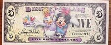 2009 Disney $5 Dollar Daisy & Minnie T Series T00051970 T00111228