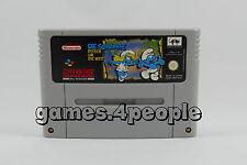The Smurfs Travel Um Die World - Children's Jump N Run for Super Nintendo/SNES