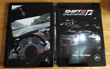 Need For Speed Shift 2 Unleashed STEELBOOK Promo Xbox 360 PS3 Rara