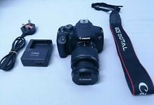 Canon EOS 700D / T5i 18.0MP DSLR Camera Kit + EF-S 18-55mm Objektiv - Black
