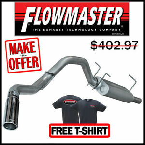"Flowmaster 17446 2008-2010 Ford F250 F350 V8 V10 3"" Cat-Back Exhaust System"