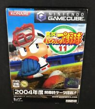 Jikkyou Pawafuru Puroyakyu 2004 (11 Pawapuro ) Japanese GameCube  **USA SELLER**