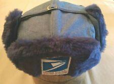 Postal Winter Trooper Hat, Medium (7-1/8), Langenberg Hat Co., Salesman's Sample
