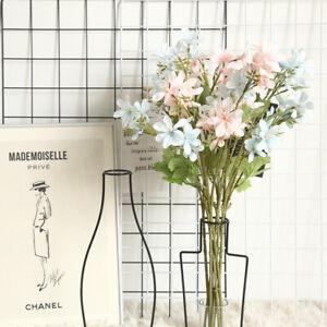 1Pc Orchid Artificial Silk Flower Fake Flower Bouquet Freesia Wedding Home Decor