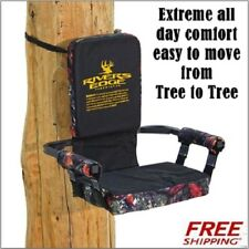 Rivers Edge Hunting Stand Seat Relax Lounger strap on Tree Seat