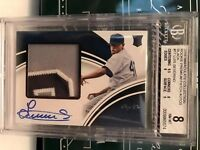 2016 Immaculate Collection Luis Severino Yankees Premium RPA Black AU 1/1 BGS 8