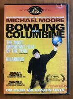 Bowling for Columbine (DVD, 2003)*Michael Moore* *Mint Disc*