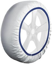 Husky Textile System Car Winter Wheel Tyre Ice, Frost & Snow Chain Socks - Small