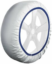 Husky COCHE sistema textil rueda De Invierno Neumático hielo, Frost & Cadena Nieve Calcetines-Medio