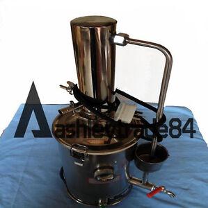 New Electric Water Distiller Distilled Water Purifier Filter Machine 3L/H 220V