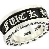 2249224a22e New Version Authentic Chrome Hearts Silver Rolling Ring - Pre Order