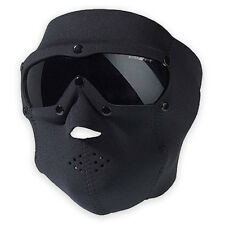 Swiss Eye SWAT Neoprene Full Face Mask Pro w/ Ballistic Goggles Airsoft Black