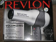 REVLON Perfect Heat Volumizing Turbo Styler Hair Dryer Model RV473CP -NEW in Box