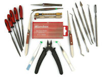 40pc Hobby Craft Tool Kit Airfix Scale Model Makers Tools Nixsell Freepost!