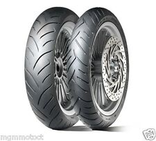COPPIA GOMME DUNLOP SCOOTSMART 100/80 16 130/80 16 APRILIA SCARABEO 200 ROTAX