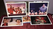 The Incredibles 2 (Blu-Ray/Dvd/Digital) & 4 Lithographs Limited Ed.