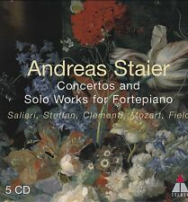 ANDREAS STAIER Concertos and Solo Works for Fortepiano SALIERI STEFFAN CLEMENTI