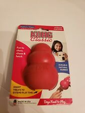 KONG CLASSIC DOG TOY FOR AVERAGE CHEWERS RED MEDIUM FOR DOGS 15 - 35 LBS NEW!