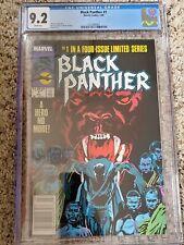 Black Panther #1 CGC 9.2 (3723992001) Newsstand Ed 7/88