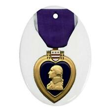 U.S. MILITARY PURPLE HEART AWARD CHRISTMAS ORNAMENT O2