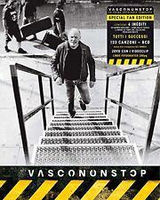 VASCO ROSSI VASCONONSTOP SPECIAL FAN EDITION COFANETTO  9CD+2DVD NUOVO SIGILLATO
