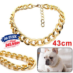 Neck Accessory Puppy Gold Adjustable Jewelry Small Dog Chain Collar Pet Necklace