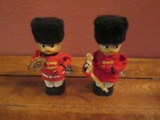 Lot of 2 Vintage Wind Up Toy Marching Band Made in Japan Plastic & Metal