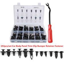 192x Vehicle Body Panel Retainer Push Pin Rivet Trim Clip Fastener Assorted Kit